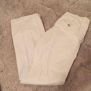 Men's khaki dress pants